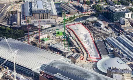 Les nouveaux bureaux de Google à King's Cross