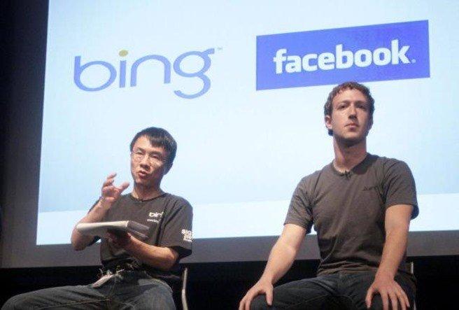 Bing et Facebook
