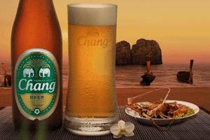La bière Chang, une marque détenue par ThaiBev