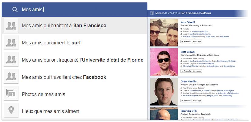Le moteur de recherche de Facebook : le Search Graph