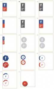 Générateur de boutons vers les réseaux sociaux