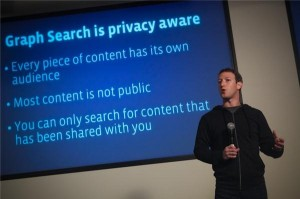 Respect de la vie privée et Graph Search