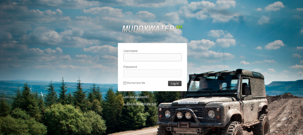 Page de login Wordpress personnalisée