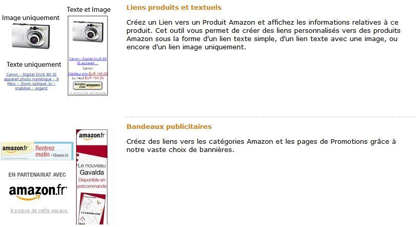 Annonces Amazon