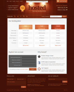 Landing page de vente gratuite