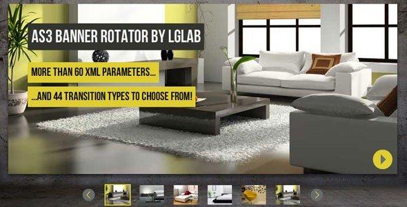 AS3 XML Banner Rotator