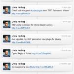 Twitter Timeline Vertical