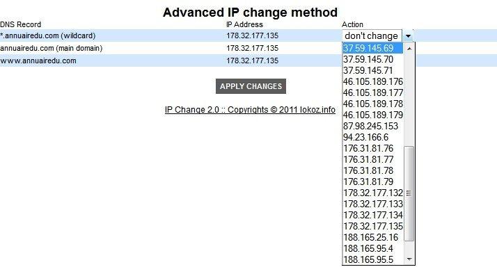 Changement d'IP avec SEOlite