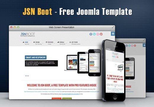 Theme Premium Joomla : JSN Boot