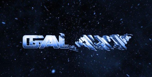 Vidéo d'intro : Galaxy