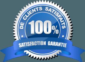 100 % de clients satisfaits