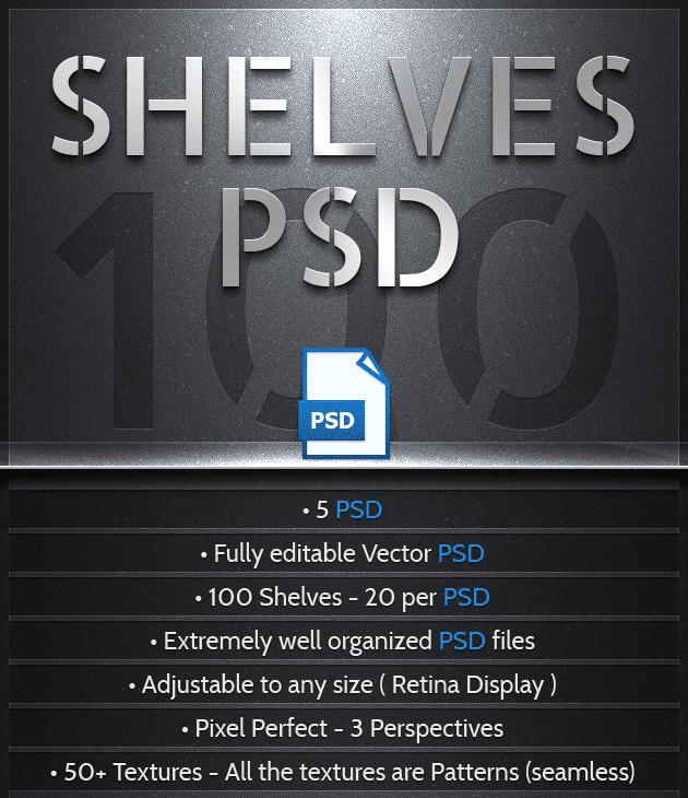 100 vecteurs PSD gratuits