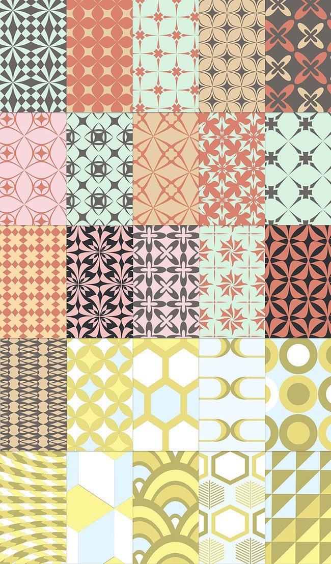 25 Patterns Rétro