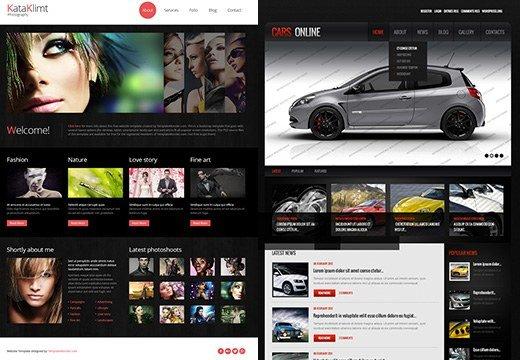 Templates de sites offerts par TemplateMonster