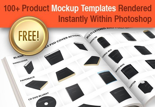 100+ Royalty Free PSD Product Branding Mock-Up Templates