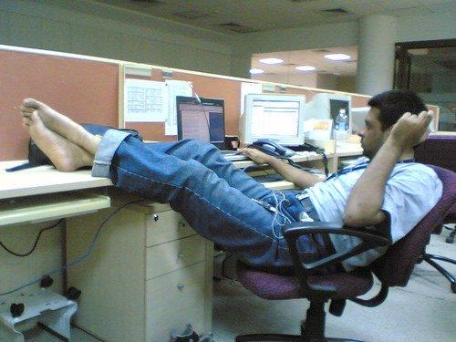 Travailler au bureau