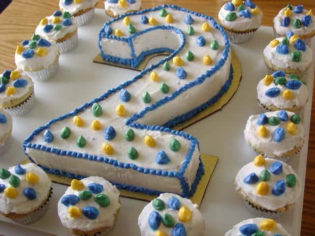 Gateau d'anniversaire de Web & SEO