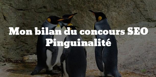 Bilan concours Pinguinalité