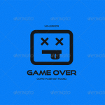 page 404 game over
