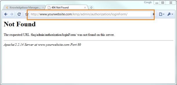 erreur 404 du navigateur
