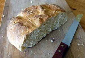 pain sur la planche