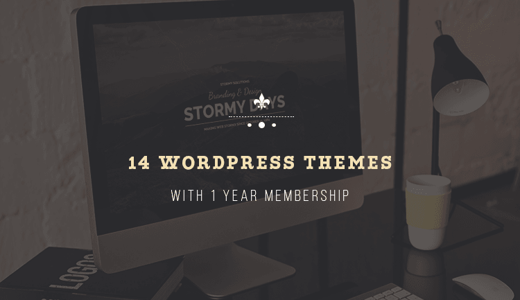 14 WordPress Themes + 1 Year Membership and future themes by Premiumcoding.com
