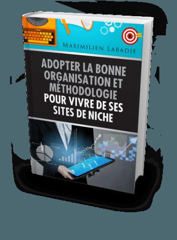 Guide Web & SEO sur l'organisation et la méthodologie pour vivre de ses sites