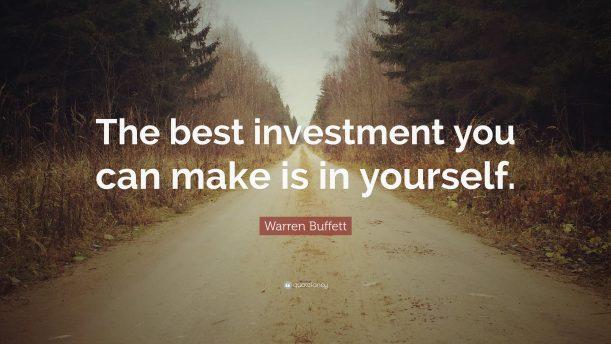 Le meilleur investissement possible ?