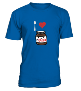 t-shirt nutella homme