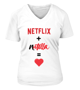 t-shirt femme nutella