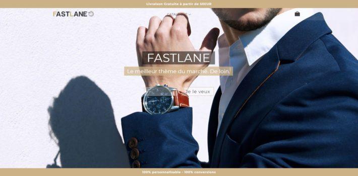Thème Shopify Fastlane