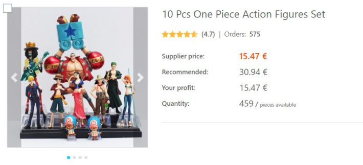 dropshipping figurines One Piece