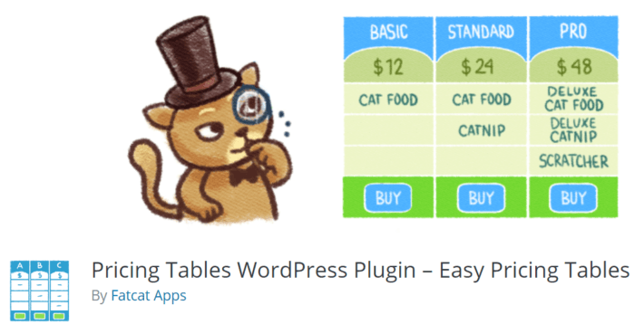 Pricing Tables WordPress Plugin – Easy Pricing Tables