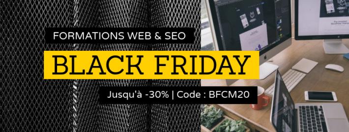 Black Friday Web & SEO : Formation Site de Niche et MasterClass Affiliation Amazon